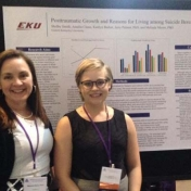 Dr. Melinda Moore and EKU doctoral student Shelby Smith presenting at the 50th A
