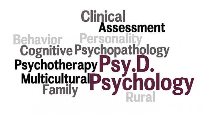 Doctor of Psychology wordcloud